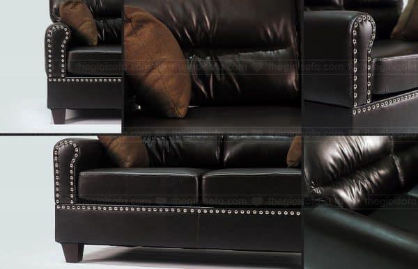 Bộ sofa da Sofaland Vasanti