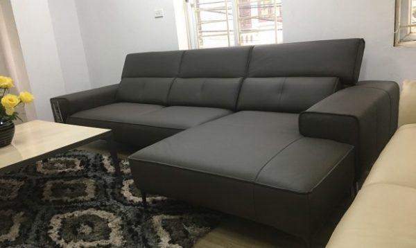 Sofa da góc 1130 - Malaysia