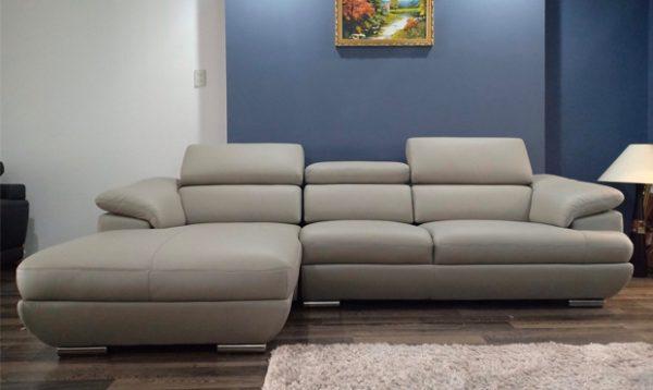 Sofa da góc Malaysia ZL2682