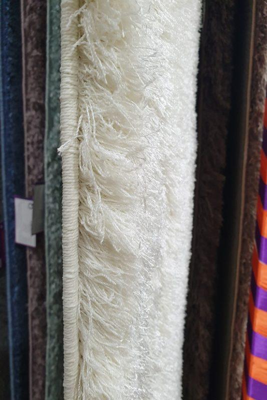 Thảm màu trắng - TGSN0003 áp dụng công nghệ dệt điểm Châu Âu