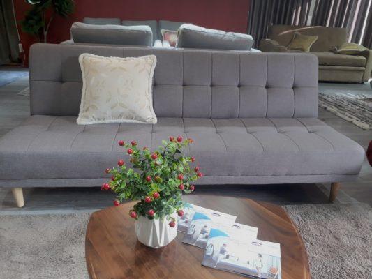 sofa giường Hà Nội/Sofa giường Sofaland Vera Grey