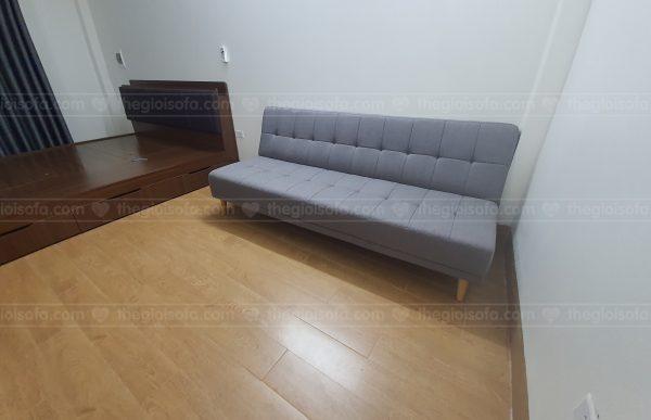Bàn giao Sofa giường rẻ đẹp Sofaland Vera Grey cho anh Đông tại 461 Minh Khai – Quân Hai Bà Trưng