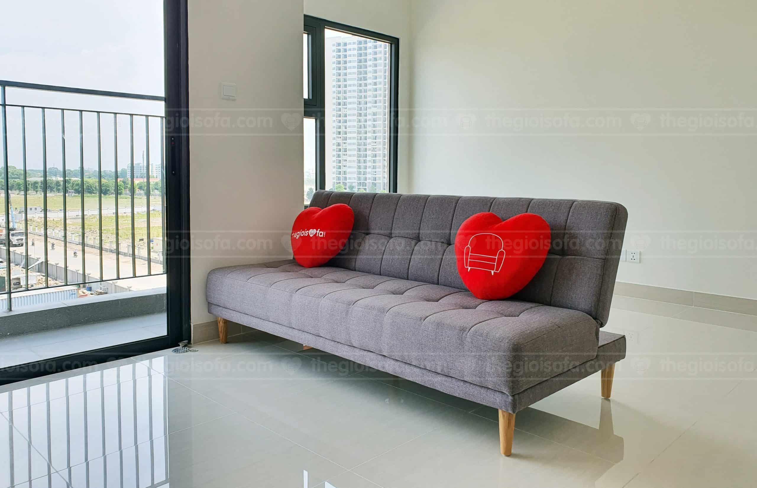 Giao hàng sofa giường SofaLand Vera cho anh Nhân ở khu Ocean Park, Gia Lâm, Hà Nội