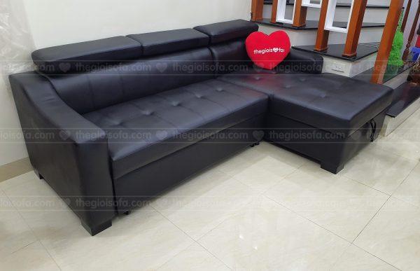 Giao hàng sofa góc giường SN40 cho anh Duệ tại Tựu Liệt – Quận Hoàng Mai