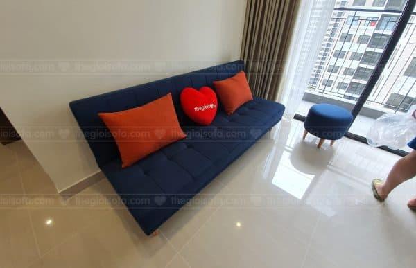 Giao hàng sofa Sofaland Vera Blue cho chị Yến Vinhome Ocean Park Gia Lâm, Hà Nội