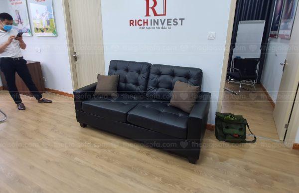 Giao hàng sofa SofaLand Vista cho anh Toàn tại Dcapital Trần Duy Hưng, Cầu Giấy, Hà Nội