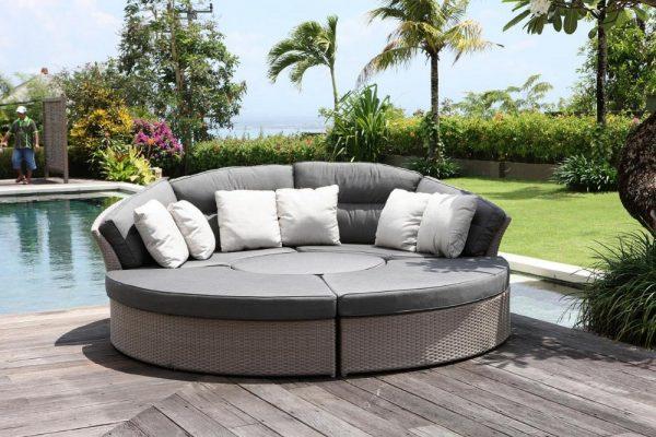 Sofa giường tròn mang đến sự độc đáo, mới lạ cho không gian nhà bạn