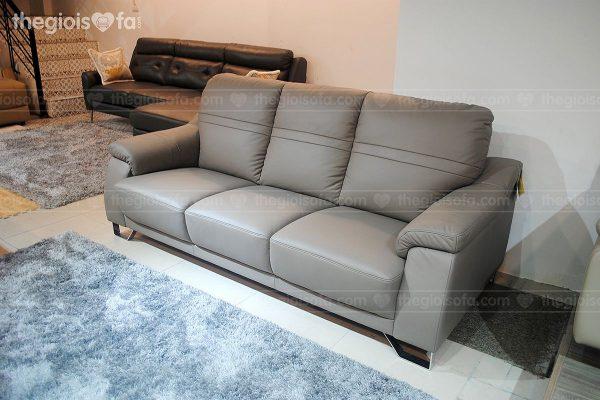 Sofa văng da nhập khẩu CELLOTI 184 - sang trọng, da bò Ý 100%