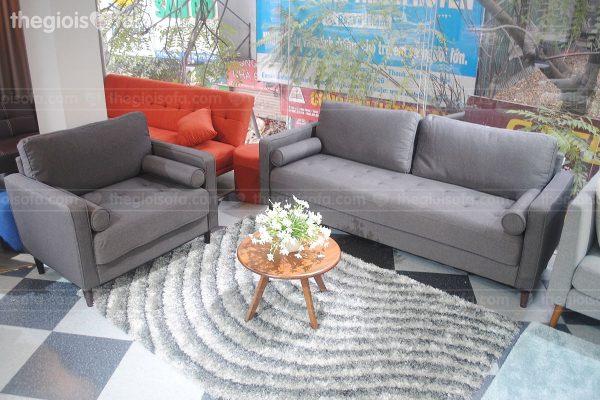 Bộ sofa 1m9 cao cấp Sofaland Oscar sang trọng, hiện đại |Thế Giới Sofa