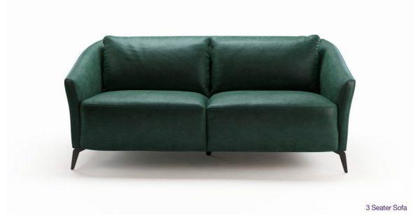 Sofa văng da Sambuco sang trọng, mang đến bộ mặt mới cho phòng khách