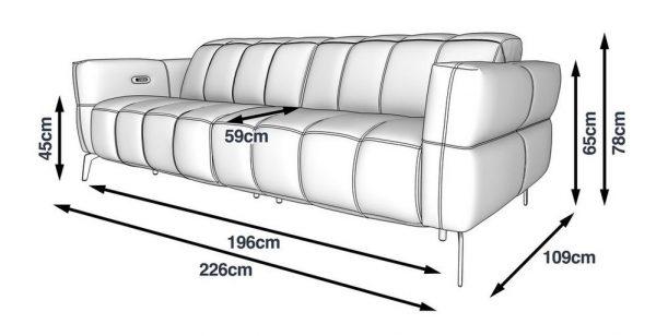 Sofa băng thư giãn Malta sang trọng, tinh tế, chất liệu cao cấp