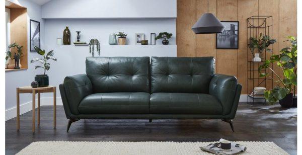 Sofa văng da Alberta sang trọng, tinh tế, phù hợp với moi gia đình
