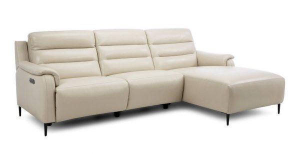 Sofa da Italia toát lên sự sang trọng nhờ kiểu dáng đẳng cấp