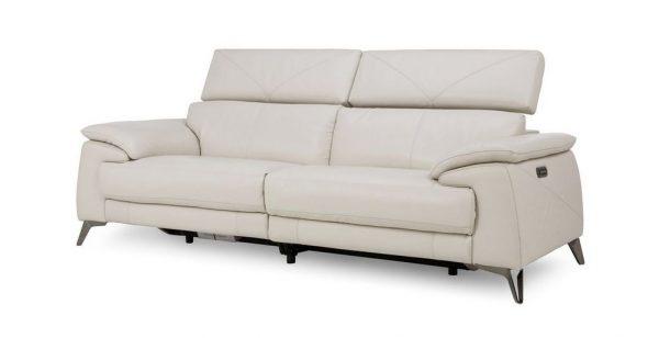 Sofa văng da Vatican chất liệu da mềm mại, chuẩn phong cách Ý