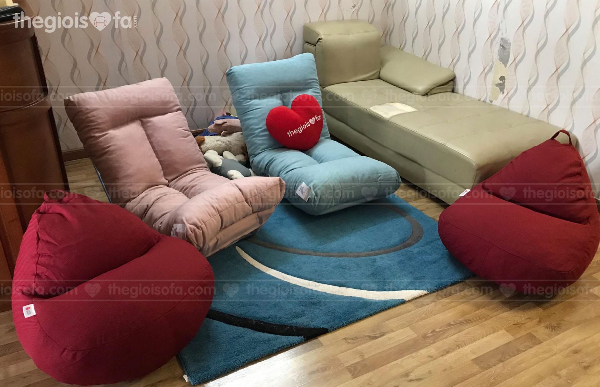 Giao hàng 2 ghế sofa bệt Lyon
