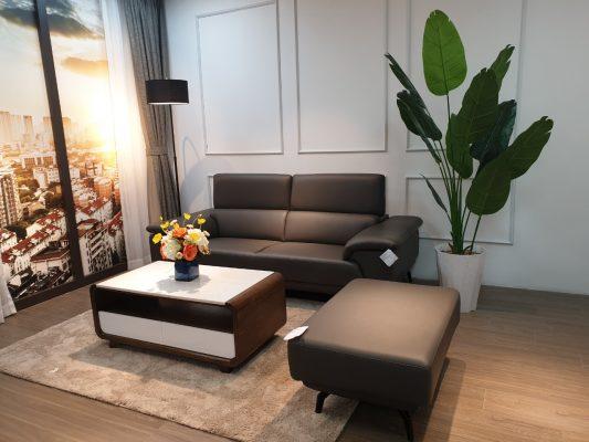 Sofa văng da Lyman cao cấp