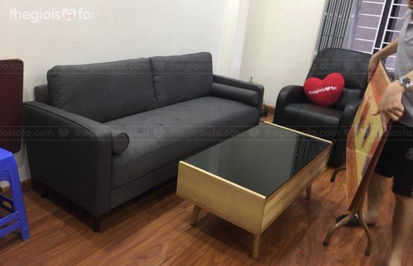 Giao hàng combo sofa Sofaland Oscar, Ghế thư giãn Muse, bàn trà cho anh Đạt tại 281 Trương Định – Mua sofa Quận Hoàng Mai