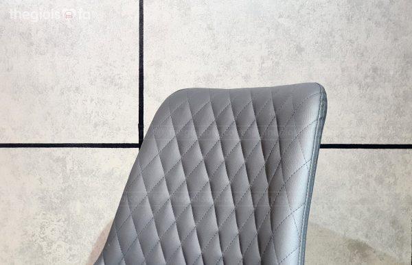 Ghế bàn ăn Carrera – bọc da cao cấp, chân sắt tĩnh điện