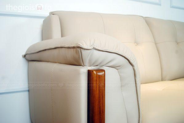 Sofa văng Altari - Da thật tiếp xúc