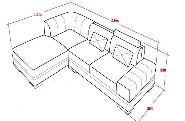 Kích thước sofa tiêu chuẩn cho người Châu Á, bạn có biết là bao nhiêu không?