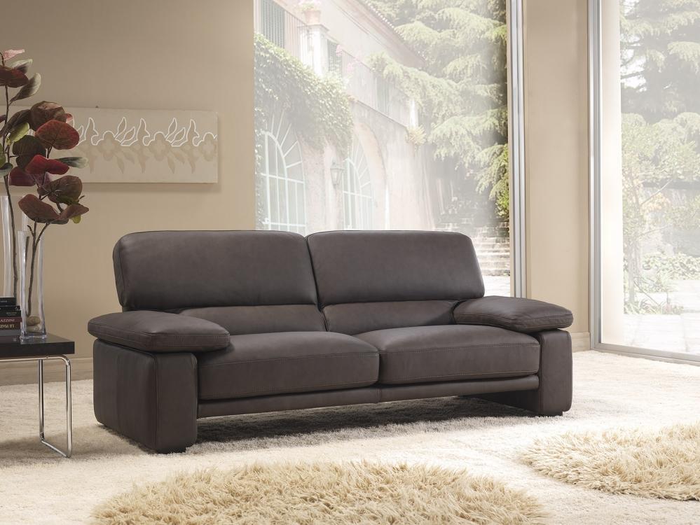 Sofa da bò Ý – Sofa văng Montaigne