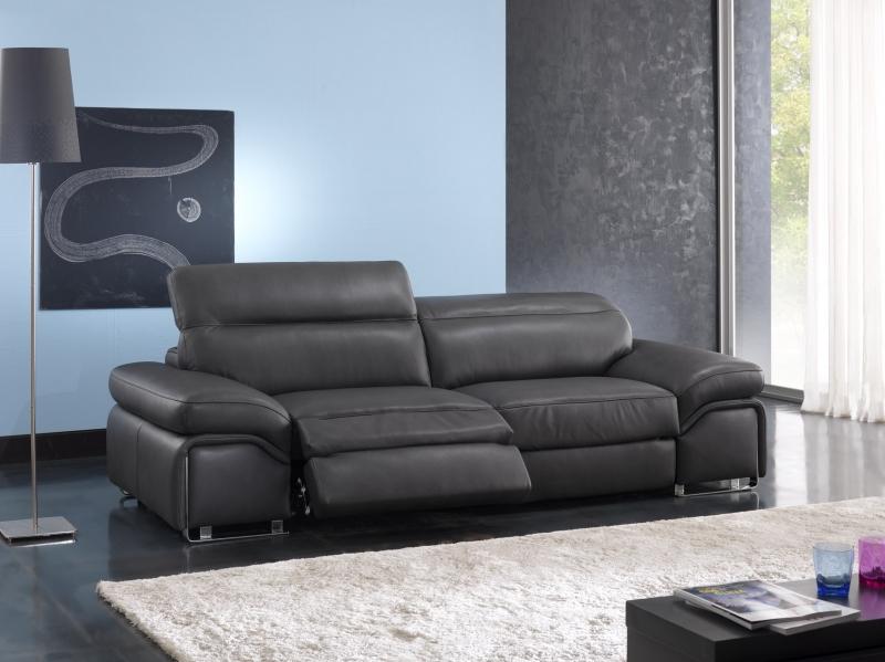 Sofa da bò Ý – sofa thư giãn Maifair - Showroom Thế Giới Sofa