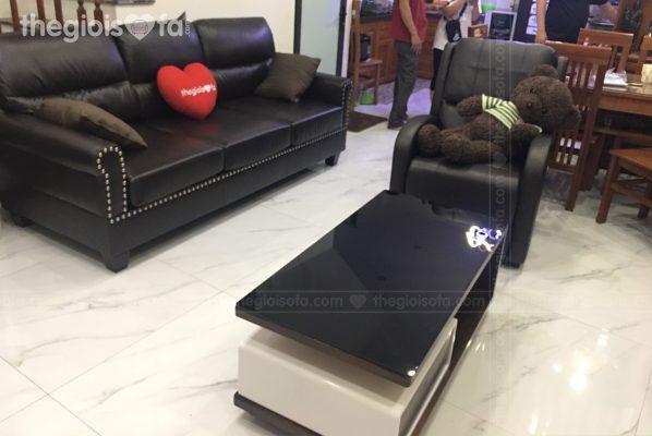 Giao hàng sofa da văng Vasanti cho chị Hạnh tại Hoàng Liệt –Mua sofa Quận Hoàng Mai