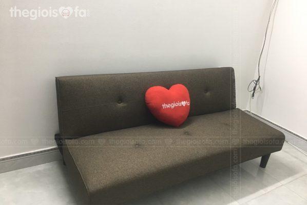 Giao hàng Sofa giường đa năng Maya Dark color cho cô Phóng tại HH2C Linh Đàm – Mua sofa Quận Hoàng Mai